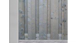 Bestel een hout beton schutting op Schutting33.nl